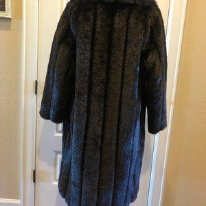 Mar Del by Rice Vintage Jackets & Coats - Mar-Del By Rice Vintage Brown Faux Fur Coat